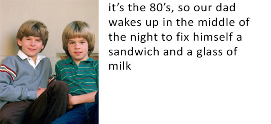 80's midnight snack
